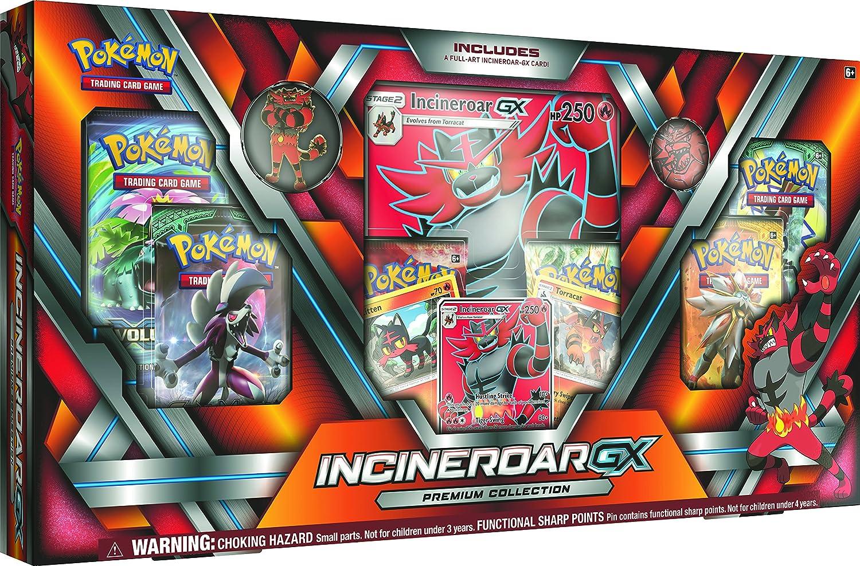 PoKéMoN incineroar-gx Premium Collection: Amazon.es: Juguetes y juegos