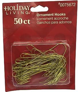 Amazoncom 50ct Large Jumbo Silver Metal Christmas Ornament Hooks