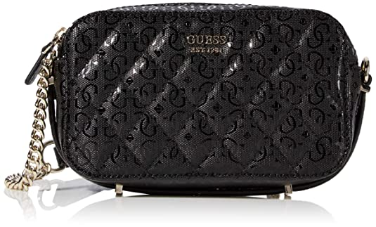 Guess Damen Luxe Crossbody Logo Luxusumhängetasche, Girlfriend (Freundin), Einheitsgröße