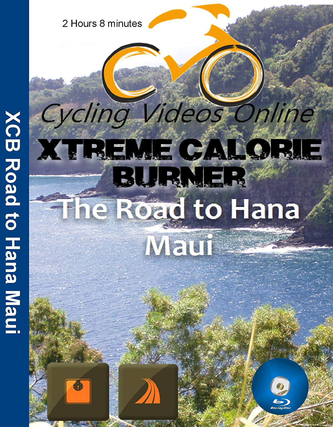 Extreme Calorie Burner the Road Hana Maui. Virtual Indoor Cycling ...