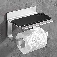 Hoomtaook toiletrolhouder zonder boren badkamer badkamer deco zelfklevende toiletrolhouder zonder boren, ruimte…