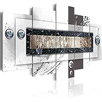 murando - Cuadro en Lienzo Abstracto Moderno 100x50 cm Impresión de 5 Piezas Material Tejido no Tejido Impresión…