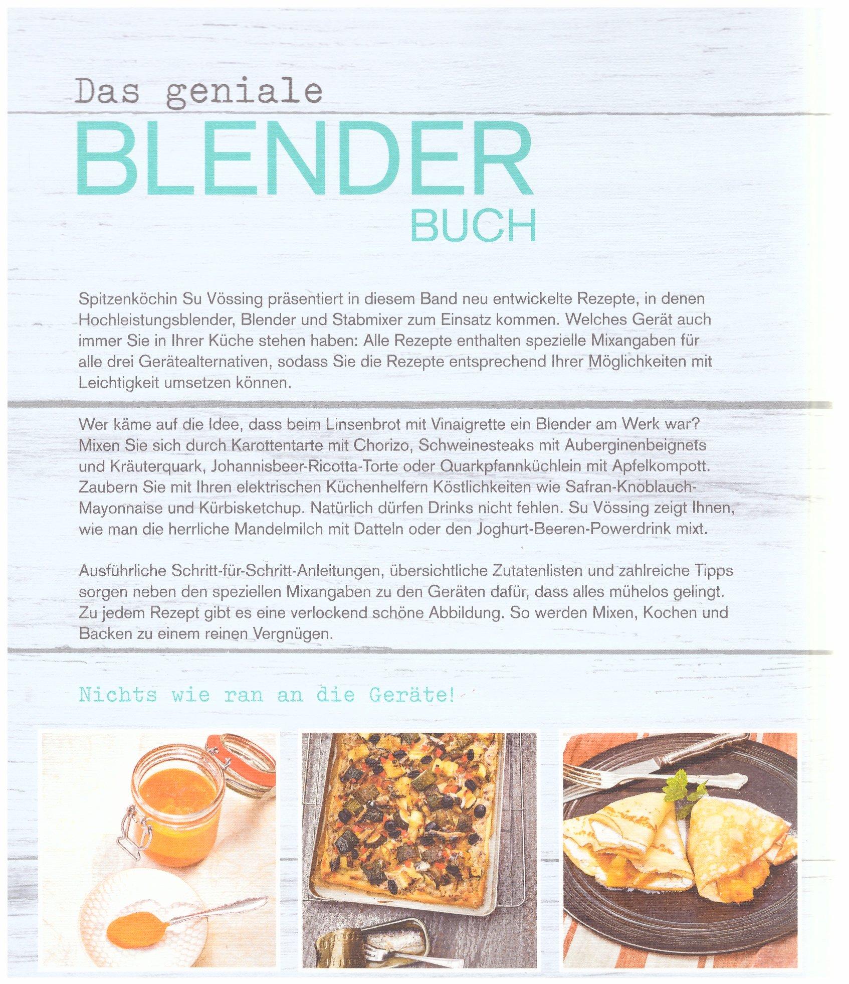 Das geniale Blender Buch ( zb. KitchenAid ): Amazon.de: Susanne ...