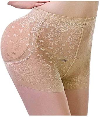 8ccdb9befe Gotoly Plus Size Padded Seamless Butt Hip Enhancer Shaper Panties Underwear   Amazon.in  Clothing   Accessories