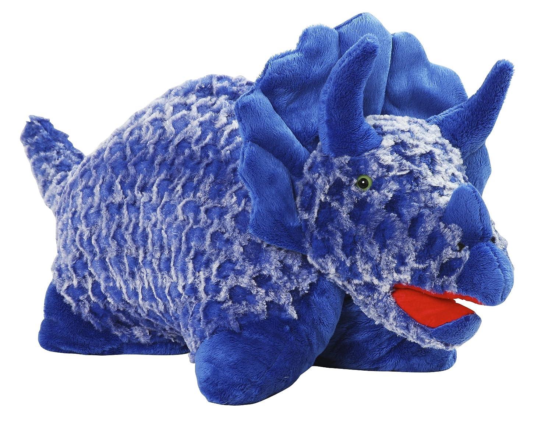 blue dinosaur pillow pet