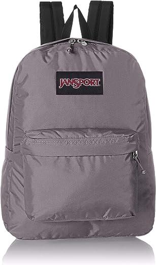 JanSport Ashbury Laptop Backpack - Comfortable School Pack   Grey Horizon