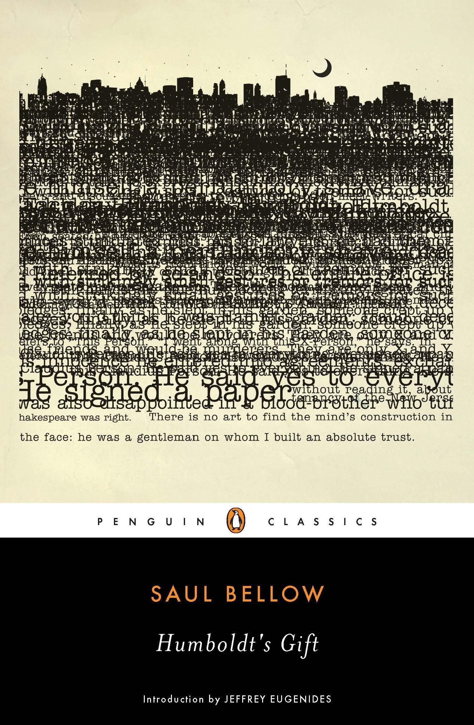 Humboldt's Gift (Penguin Classics): Bellow, Saul, Eugenides ...