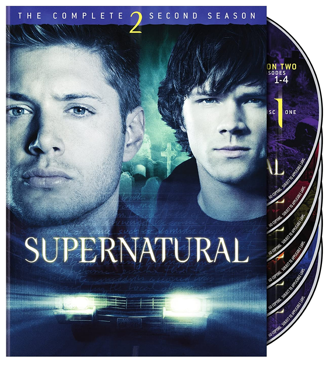 Supernatural: The Complete Second Season Jared Padalecki Jensen Ackles Warner Bros. Home Video 2289561