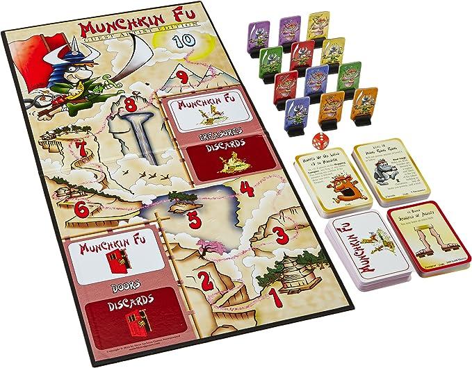 Steve Jackson Games sjg01517 – Juego de Cartas Munchkin Fu Guest Artist Edition: Amazon.es: Juguetes y juegos