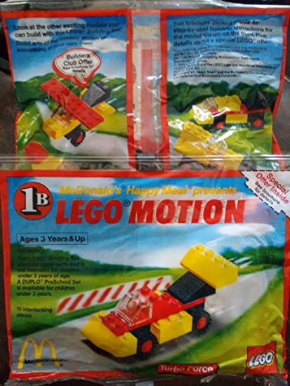McDonalds Happy Meal 1989 Lego Motion - Turbo Force