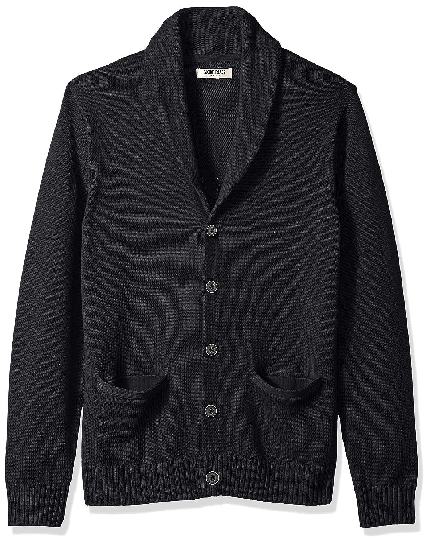 Goodthreads Mens Soft Cotton Shawl Cardigan Sweater