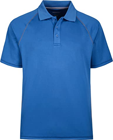 Maier Sports Comfort polo señora camisa azul