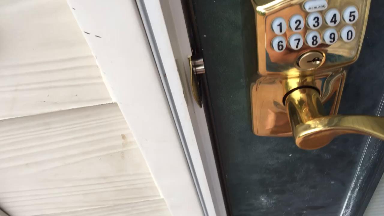 Schlage Z Wave Home Keypad Lever Aged Bronze Fe599nx Cam