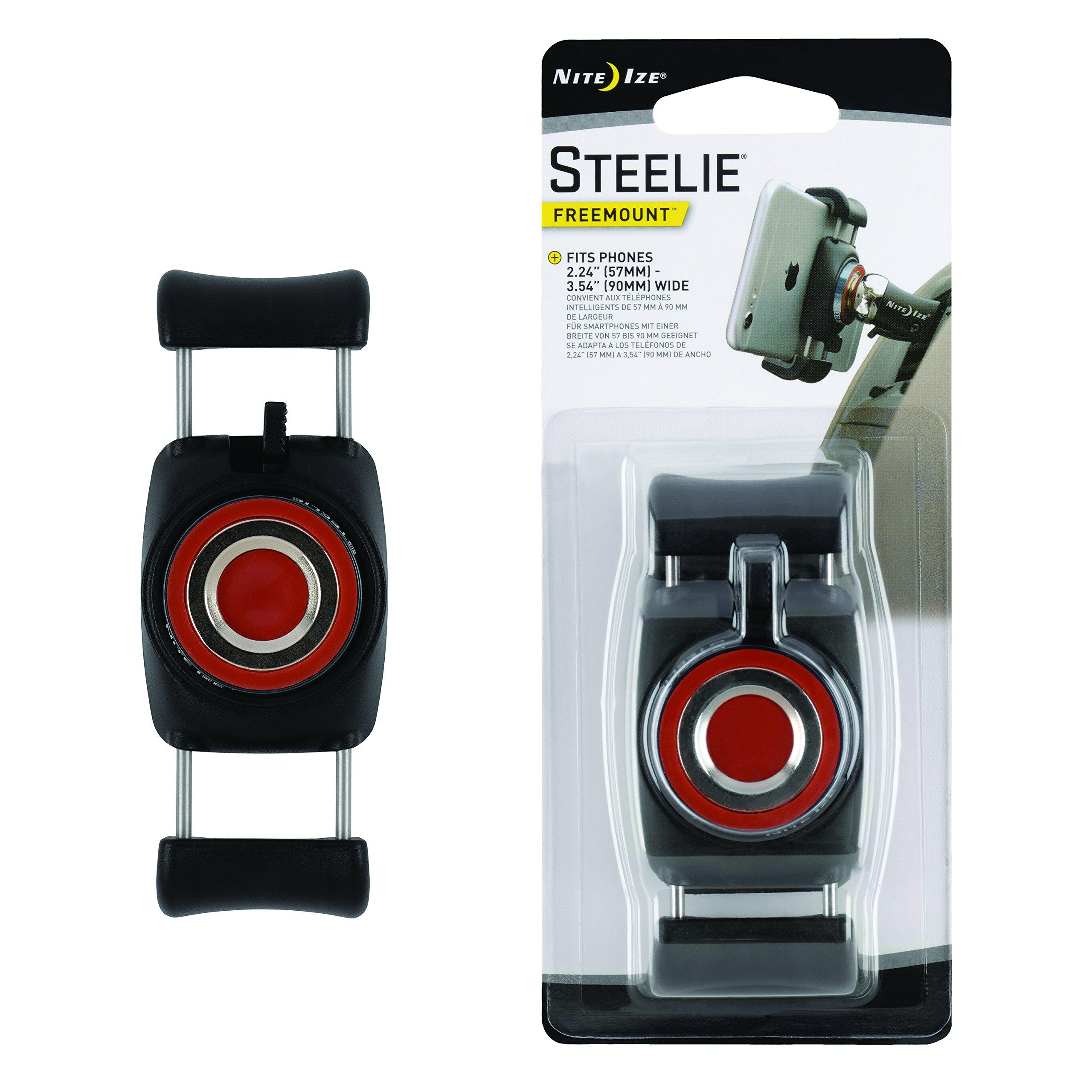 Nite Ize STF-01-R7 Original Steelie FreeMount Bracket - Additional FreeMount for Steelie Magnetic Phone Mounting Systems