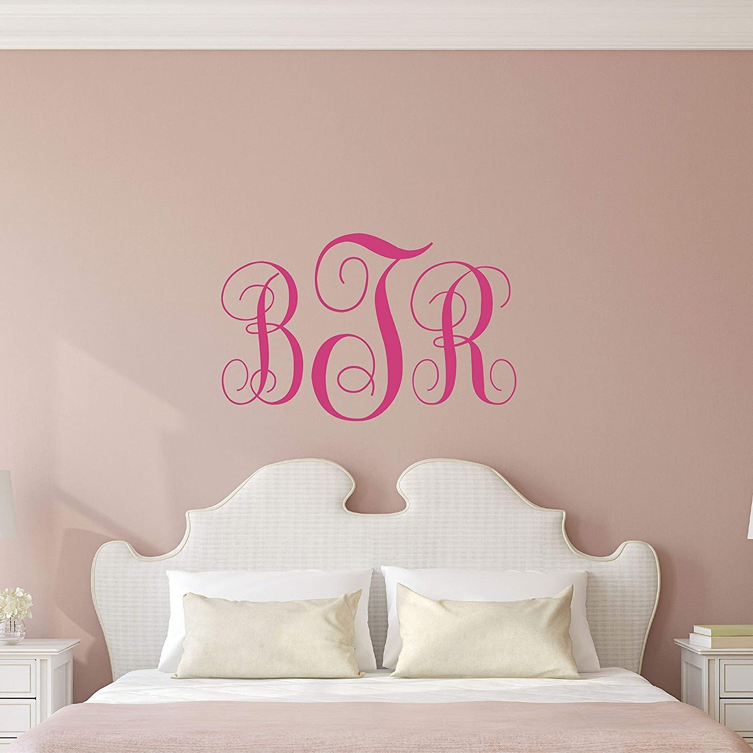 Baby Name Wall Decal Sticker Personalized Name Wall Decal Sticker Art Boys Girls Room Wall Decor Personalized Name Vinyl Wall Decal Custom Name Wall Decal Monogram
