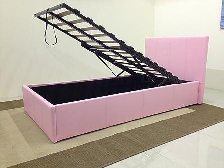 Amazing Pink Ottoman Bed Uk Short Links Chair Design For Home Short Linksinfo