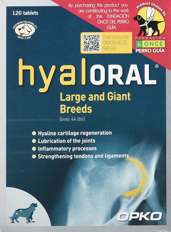Farmadiet Hyaloral Razas Grandes y Gigantes 30 Blísters con 12 Comprimidos - Total: 360 Comprimidos: Amazon.es: Productos para mascotas