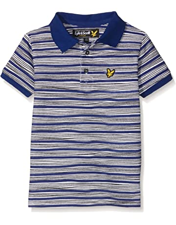 ca96d34f Lyle & Scott Boy's Hand Drawn Polo Shirt