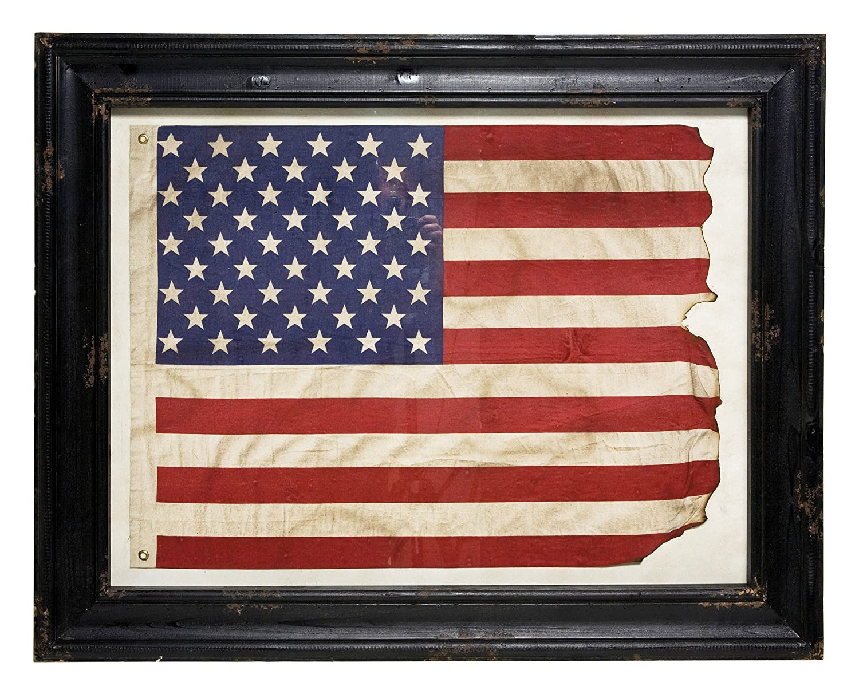 Amazon.de: Kare Bilderrahmen, Flagge der Vereinigten Staaten von ...