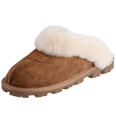 96029b231bc UGG Australia Women's Coquette Slippers Footwear (12 Chestnut)