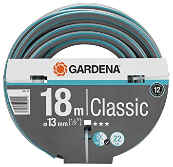 Gardena Display Manguera Classic Ø 13 mm Rollo de 18 m, Estándar: Amazon.es: Jardín