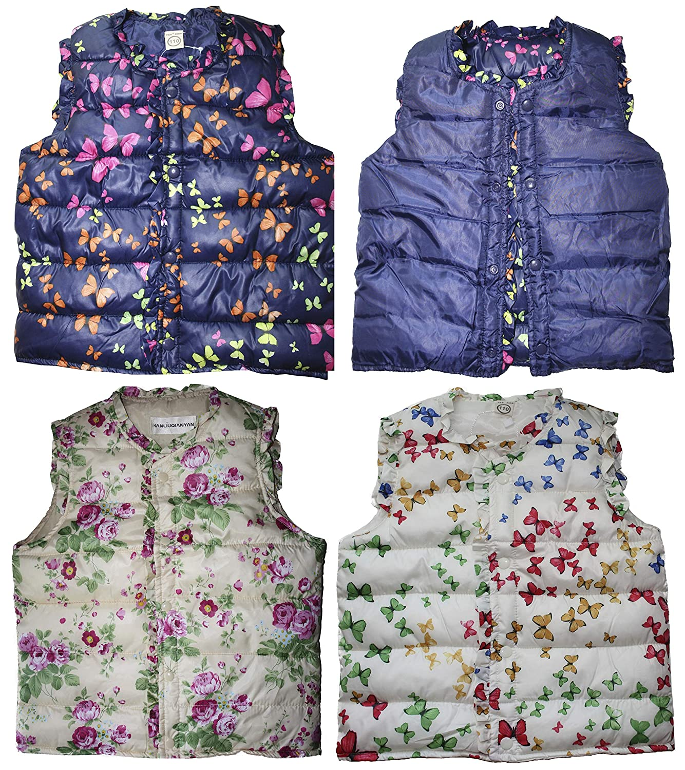Averlexx Girl Winter Warm Vest Outwear Coat Kids Light Weight Padded Waistcoat