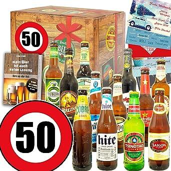 Geschenke Mann Zum 50 Geschenke Zum 50 Geburtstag Bier Paket