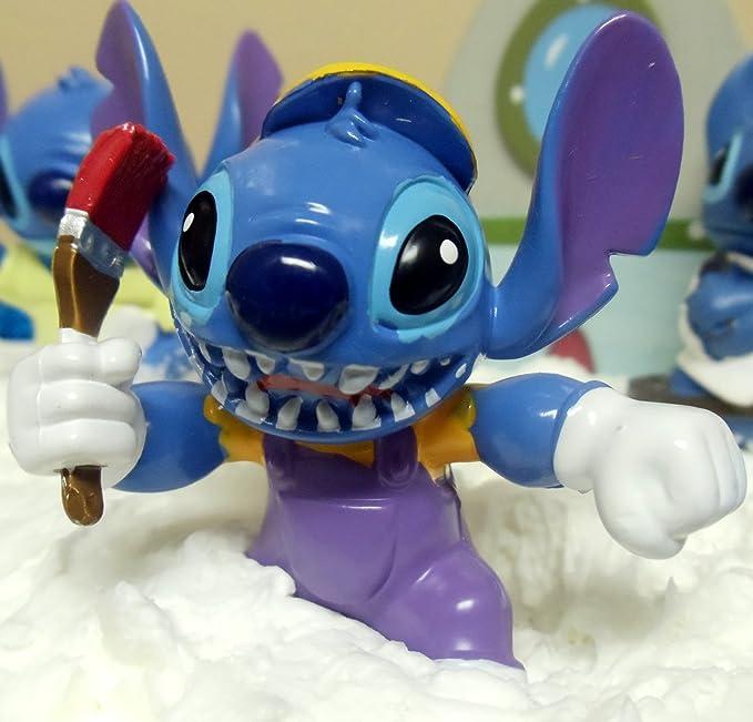 Amazon Disney 16 Piece Lilo And Stitch Birthday Cake Topper Set