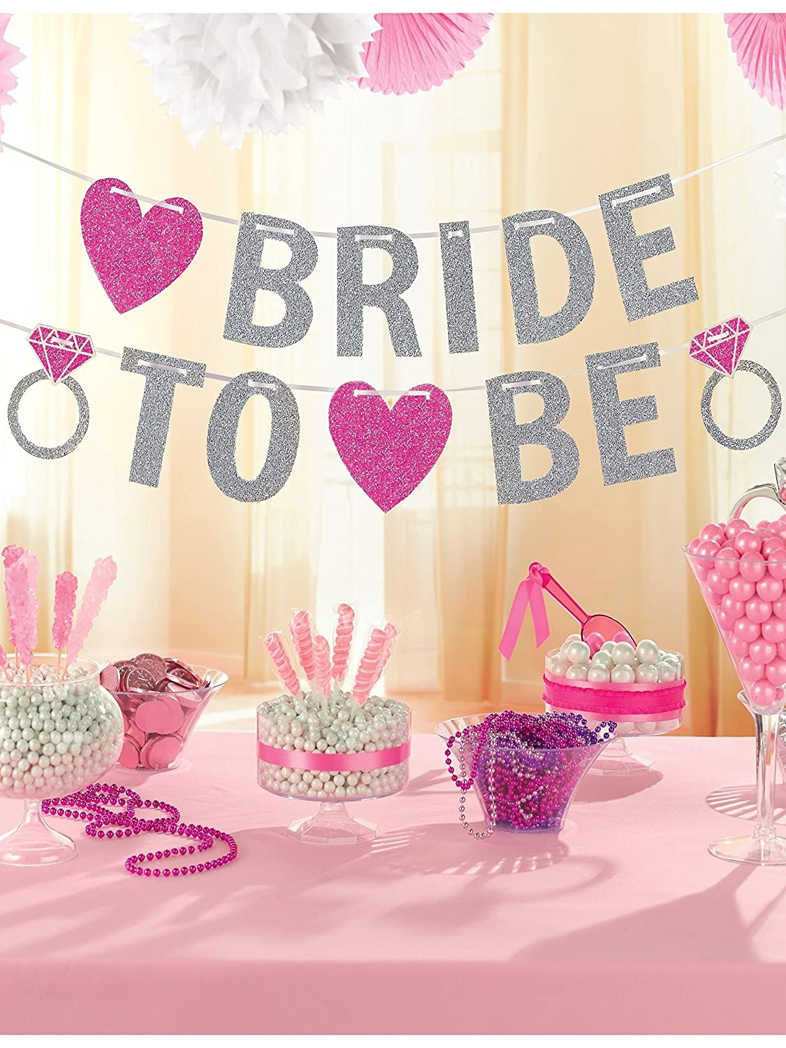 Amscan 9900536 3.5 m Hen Party Bride to Be Glitter Banner Amscan Internatinal Ltd