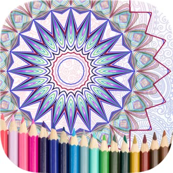 Amazon Com Mandala Coloring Book For Me And Friend Appstore For