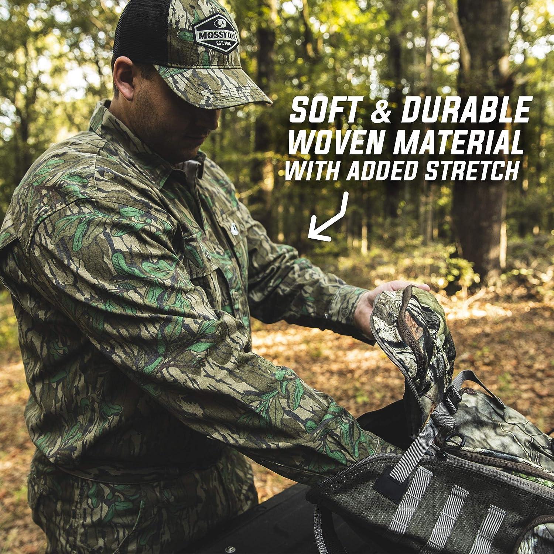 Mossy Oak Herren Camouflage Cotton Mill 2.0 Hunt Shirt Lang/ärmelig