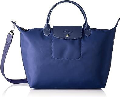 Longchamp Le Pliage Neo, sac à main femme bleu bleu