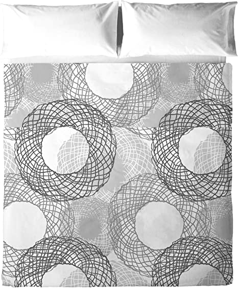 Atelie Luxury Linens Juego Sábanas, Algodón, Gris, 150 x 200 cm: Amazon.es: Hogar