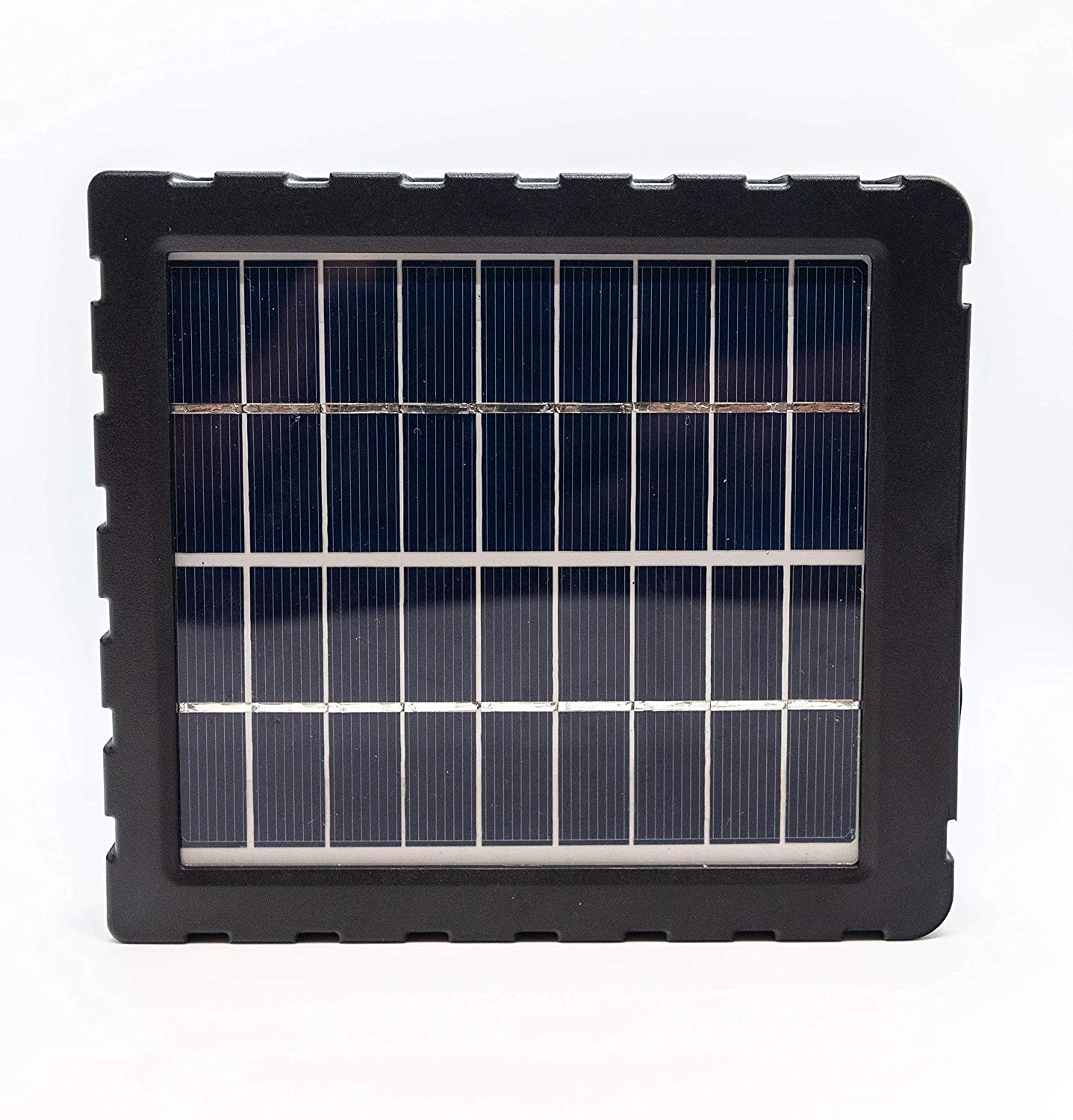 Exodus SP18 - 12V Solar Panel with Built In Rechargable Battery | Designed For use with All Exodus Trail Camera Models | Perfect External Battery for Trail Cameras, Game Cameras, Feeders, and Other Electronic Devices with Compatible Connection