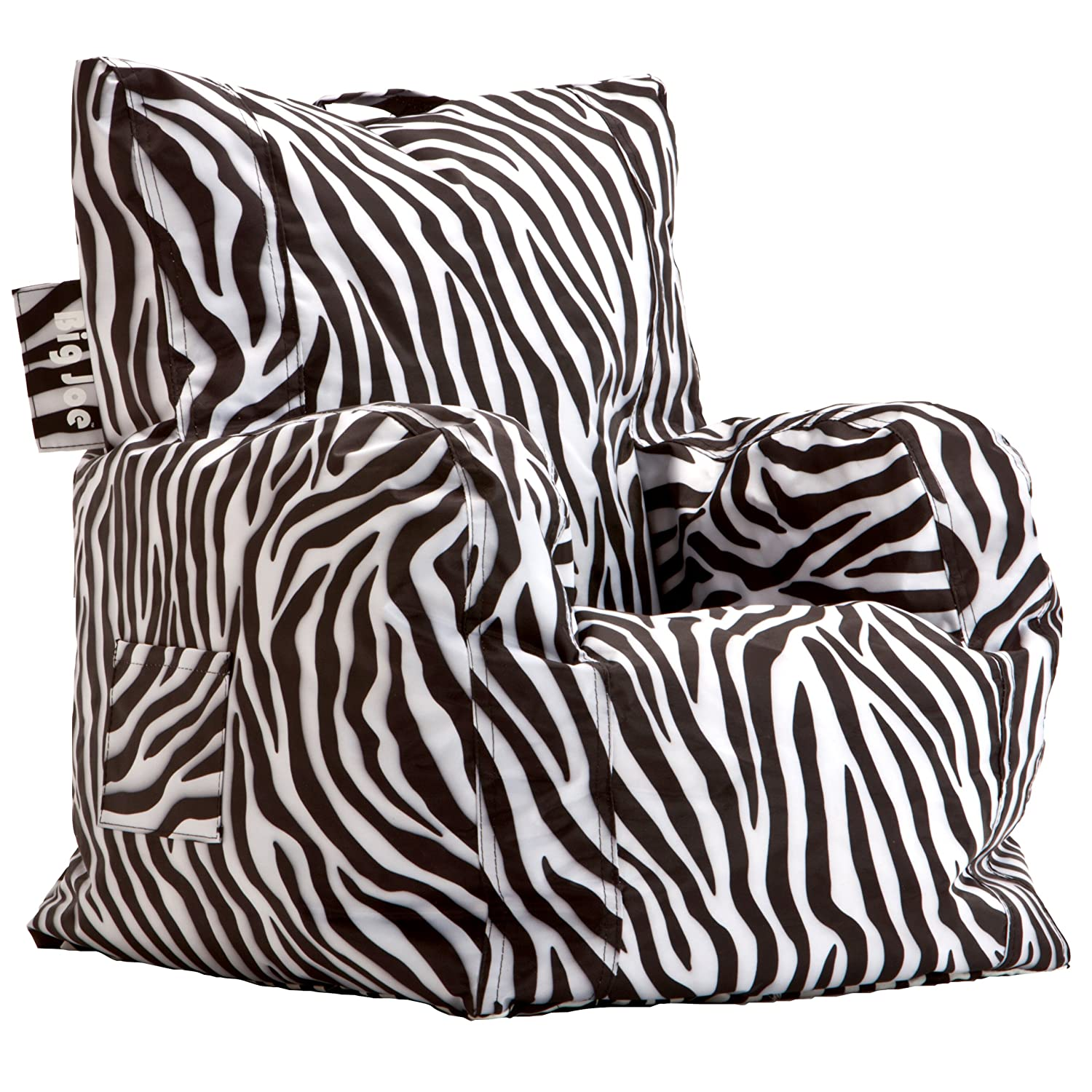 Amazon Big Joe Cuddle Chair Zebra Kitchen Dining