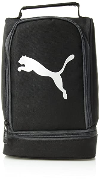 766f3309d3 Amazon.com: PUMA Boys' Big Evercat Stacker 2.0 Lunch Box, black ...