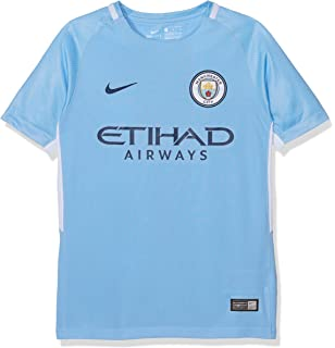 NIKE Youth Breathe Manchester City FC Stadium Jersey [Field Blue]