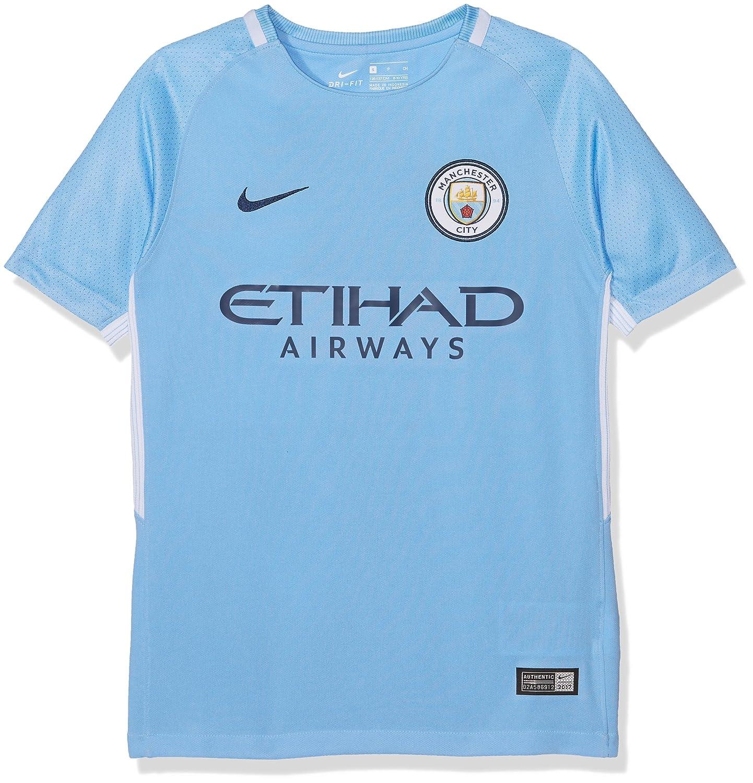 Nike Kinder Breathe Manchester City FC Stadium Trikot