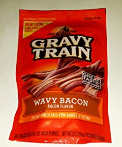 Gravy Train Wavy Bacon Small Dog Treats