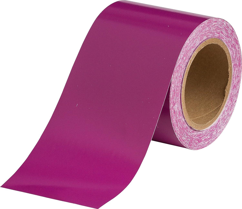 B-946 4 X 30 Yards Purple Pressure Sensitive Vinyl Brady 36318 Pipe Banding Tape