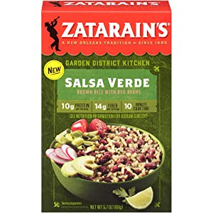 Zatarain's Salsa Verde With Red Beans, 5.7 oz (Pack of 8)
