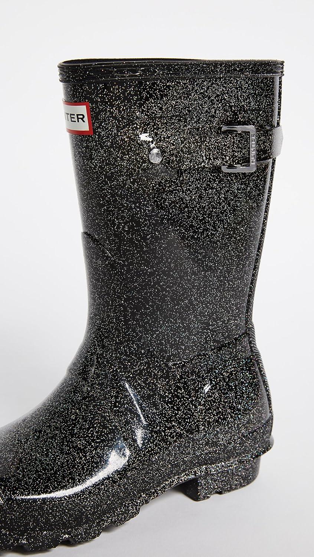 Hunters Boots Women's Original Starcloud Short Boots, Black Multi, 9 B(M) US B0758JYL1M Parent