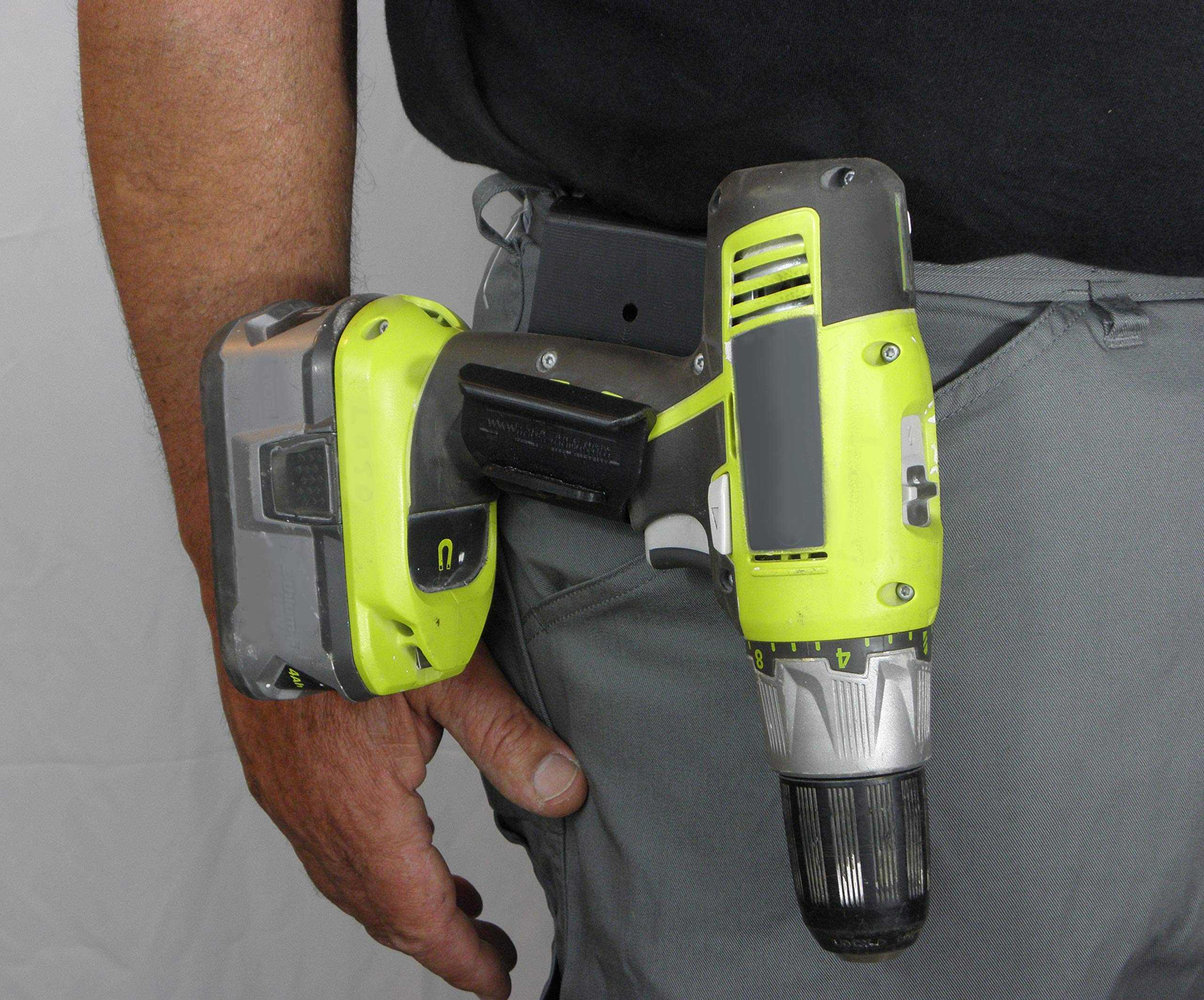 The Gunnie Cordless Drill Holster/Hook - 2-Pack by Gunnie