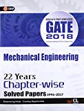 GATE Mechanical Engineering (22 Year's Chapter-Wise Solved Paper) 2018
