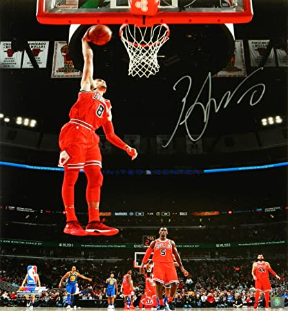 Image Unavailable. Image not available for. Color  Zach LaVine Signed  Chicago Bulls ... 551bf24a0