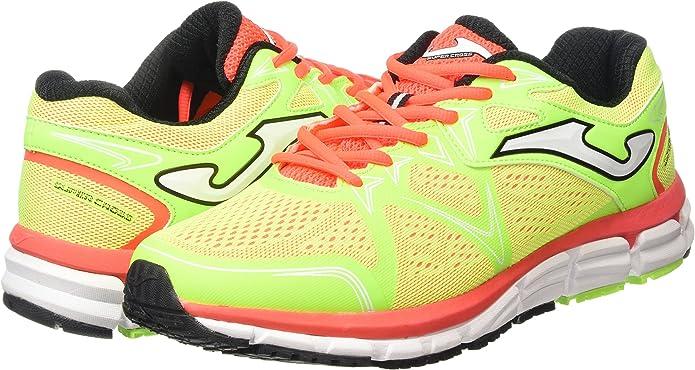 Joma Super Cross - Zapatillas de Running para Hombre, Color flúor ...