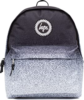 964794d574 Hype Backpack Rucksack Shoulder Bag - Black with White Speckle - for ...
