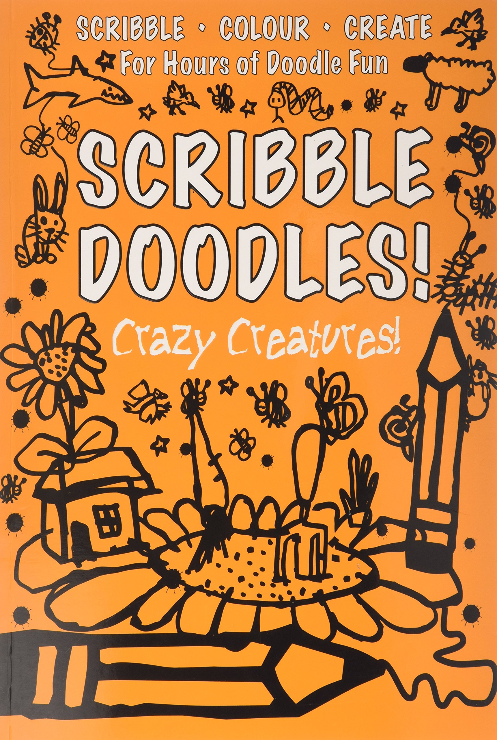 Download Scribble Doodles Crazy Creatures PDF