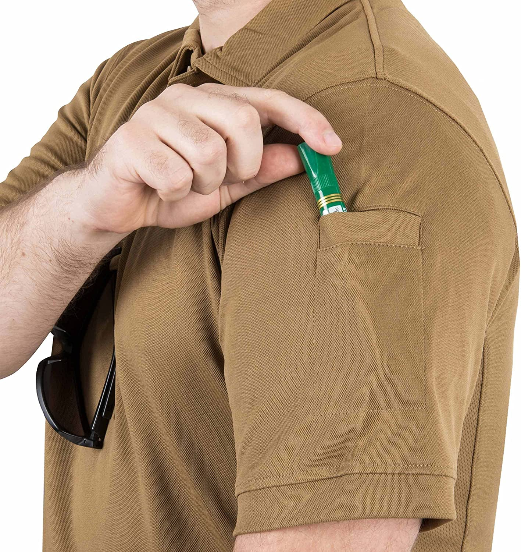 Helikon-Tex Urban Tactical Line Polo Shirt TopCool Lite Mens T-Shirt Navy Blue