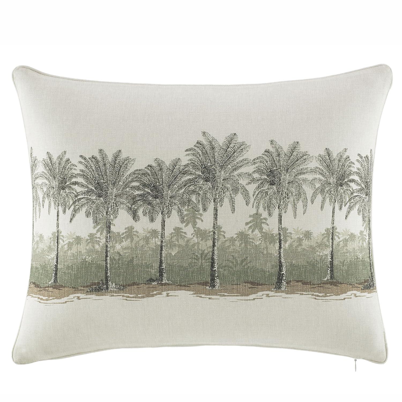 Tommy Bahama Canvas Stripe Breezer Palm 16 x 20 Decorative Throw Pillow Multi